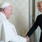 Francisco y dIrectora del FMI buscan ética del capitalismo global