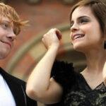 """Harry Potter: Para """"Ron"""" besar a """"Hermione"""" no fue bonito"""