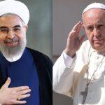 Hasan Rohani pidió al papa Francisco que rece por él