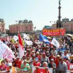 CGTP: Sindicatos presentan demandas a candidatos presidenciales