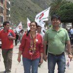 Verónika Mendoza recorre este sábado provincia de Espinar
