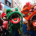 Peruanos recibieron el año nuevo chino del Mono (FOTOS)