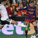 Copa del Rey: Barcelona en la final con empate 1-1 ante Valencia