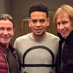 Selección peruana: Ricardo Gareca visitó a Alexander Callens