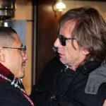 Ricardo Gareca se reunió con Gianluca Lapadula en Italia (VIDEO)
