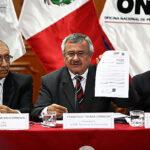 ONPE entregó resultados de segunda vuelta al Jurado Nacional de Elecciones