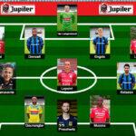 Cristian Benavente en el equipo ideal de la Liga de Bélgica
