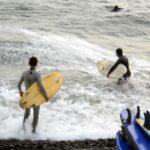 Oleajes de ligeros a moderados afectan litoral norte