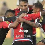 Flamengo goleó 5-0 con Paolo Guerrero en gran actuación