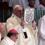 Papa recordó a excluidos y víctimas de violencia en basílica de Guadalupe
