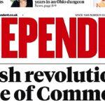 Diario británico The Independent cierra su edición en papel