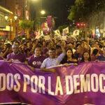 JNE: Realizan vigilia a espera de fallo sobre Todos Por el Perú