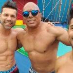 Padre de Rafael Cardozo sorprende con excelente físico a sus 62 años