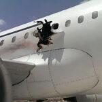 Somalia: Bomba provocó agujero en avión que aterrizó de emergencia (VIDEO)