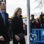 El juicio a la hermana del rey Felipe VI se reanuda en España