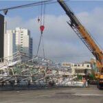 La Victoria: Retiran panel monumental por inseguridad