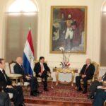 Pedro Cateriano se reunió hoy con el Presidente de Paraguay