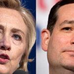 EEUU: Hillary Clinton y Cruz superan a Sanders y Donald Trump por ahora