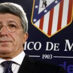 Presidente del Atlético de Madrid habló sobre pase de Jackson Martínez