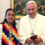 Papa envía rosario a legisladora argentina de Parlasur detenida