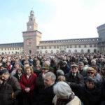 Italia despide con un funeral laico al escritor Umberto Eco