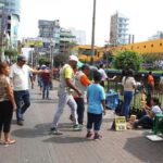 La Victoria: Desocupan a cientos de ambulantes en Gamarra