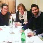 Selección peruana: Ricardo Gareca se reunió con Claudio Pizarro en Alemania