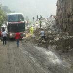 Huarochirí: Huaico bloqueó carretera central y afectó vía férrea