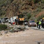 Carretera Central: Camiones y buses varados por nuevo desborde del río Rímac