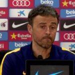 Liga BBVA: Luis Enrique asegura que Barcelona no se siente aún campeón (VIDEO)