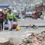 Minsa: Doce heridos dejó protestas en Manchay