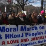 """EEUU: Hispanos sumaron sus voces en masiva """"Marcha moral"""""""