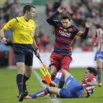 Liga BBVA: Barcelona en partido aplazado ganó 3-1 al Sporting Guijón