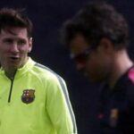 Leo Messi vuelve a entrenar tras someterse a una litotricia renal