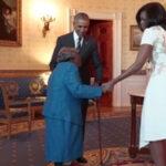 Anciana de 106 años hizo a bailar a los Obama en la Casa Blanca (VIDEO)