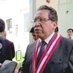 Pablo Sánchez niega que Fiscalía proteja a Alan García
