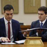 España: PSOE y Ciudadanos firman un pacto de gobierno