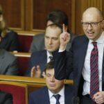 Ucrania: Fracasa moción de censura contra gobierno de Yatseniuk