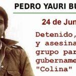 Pedro Yauri: 24 años con un recuerdo amargo