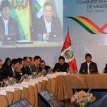 Perú y Bolivia revisaron acuerdos alcanzados en Gabinete Binacional