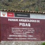 Písac: Suspenden visitas a sitio arqueológico donde murió niña