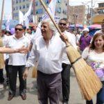 Fernando Olivera se compromete a acabar con la inseguridad ciudadana