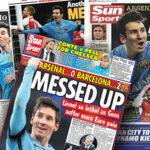 "Prensa inglesa destaca que el Arsenal sufrió la ""magia de Messi"""