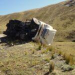 Puno: Vuelco de minivan deja cuatro muertos en vía Juliaca-Putina