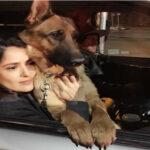 Salma Hayek llora muerte de su perro con un tiro cerca al corazón