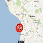 Chile: Sismo de magnitud 5.5 afecta a diez ciudades del norte