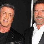 Schwarzenegger consuela a Sylvester Stallone tras perder el Oscar