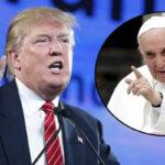 """Donald Trump: Papa Francisco """"es usado como peón en debate migratorio"""""""