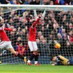 Liga Premier: Manchester United 3 Arsenal 2 en Old Trafford