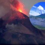 Nicaragua: Volcán Momotombo registra 6 explosiones y expulsa lava